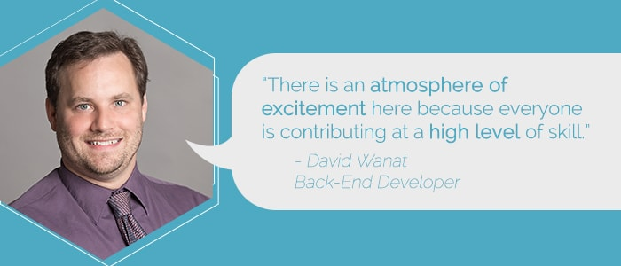 Dave Wanat Back-end Developer