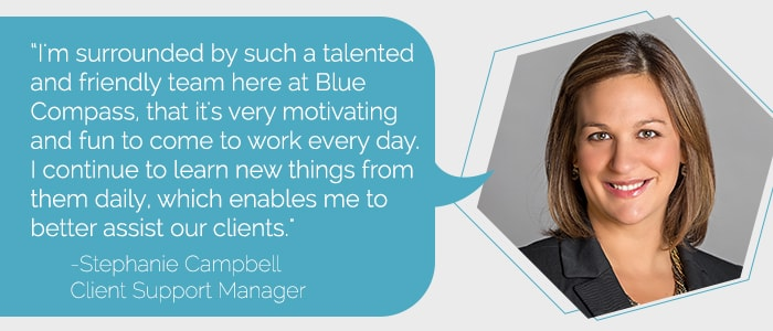 Stephanie Campbell Support Manager