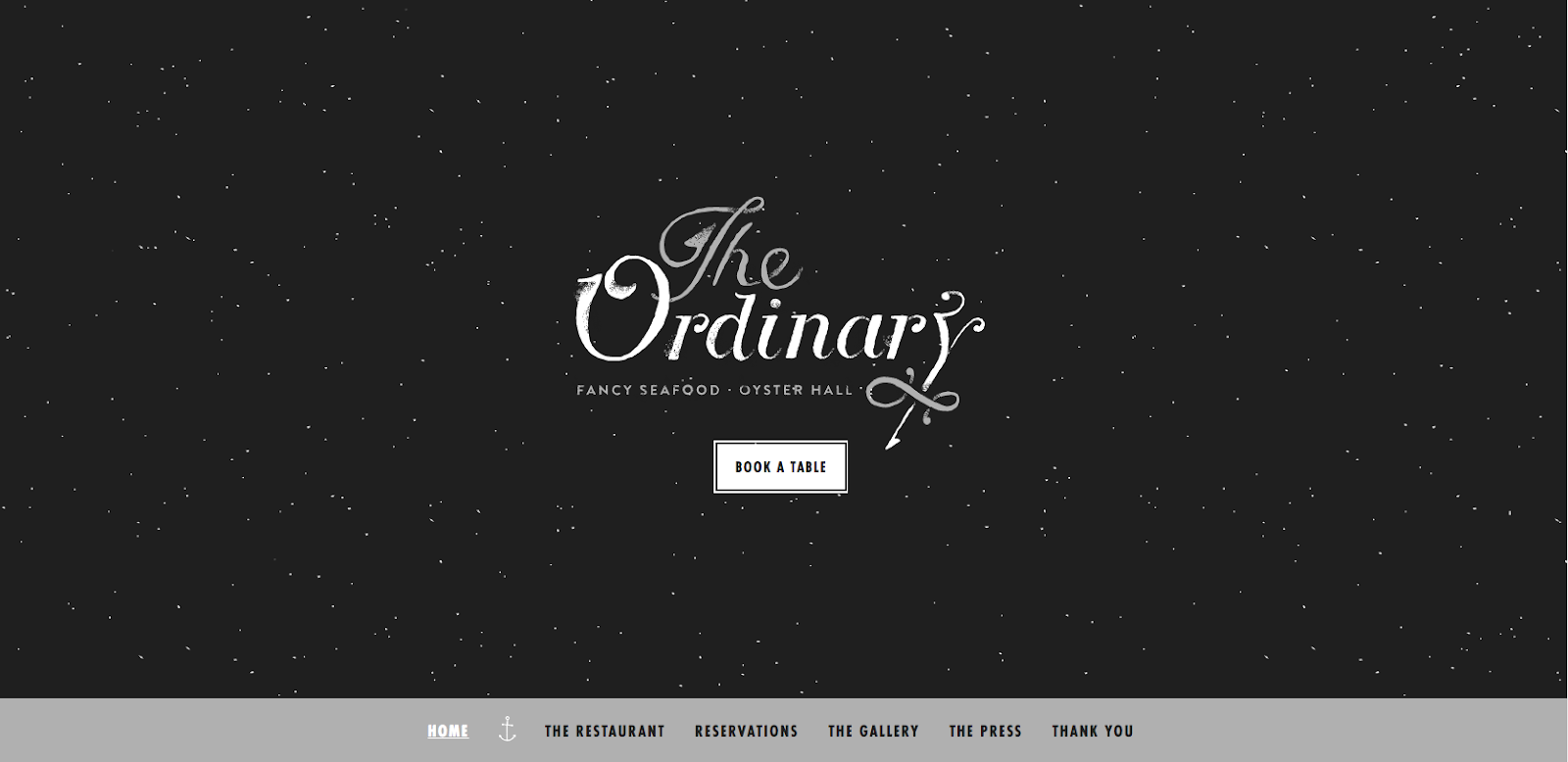 The Ordinary Website