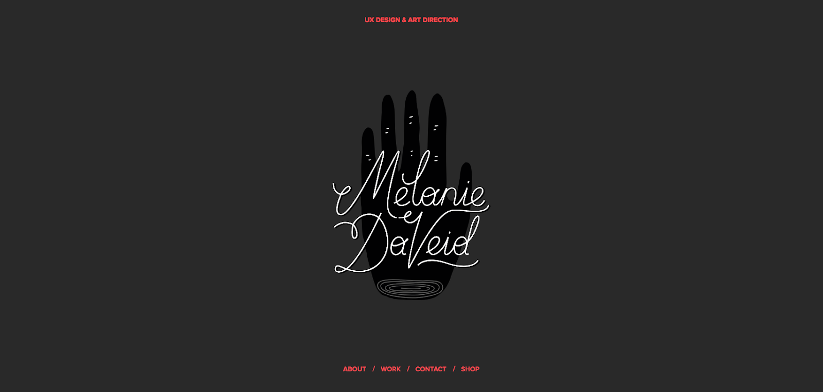 Melanie DaVeid Website