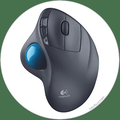 Trackball mouse pad