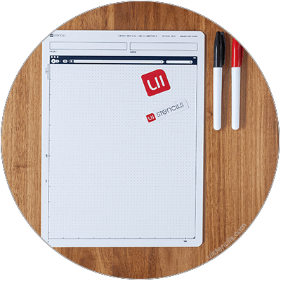 Browser White Sketch Pad