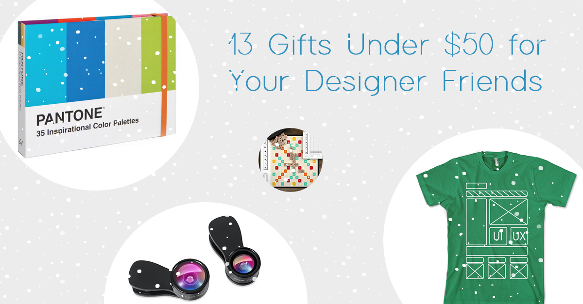 13 Gift Ideas for Your Designer Friends
