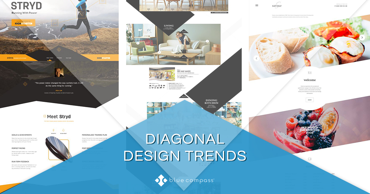 Have You Switched to The New Trend  Try Diagonal Website Designs 544a284b6b1
