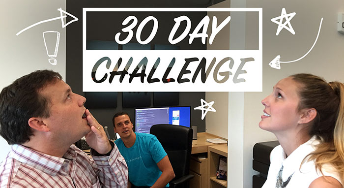 30 day challenge at blue compass