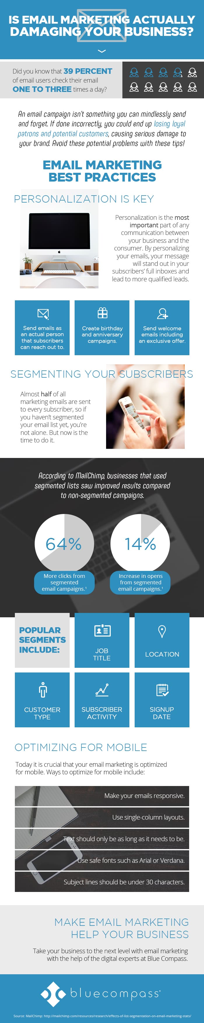Is email Marketing actually hurting your Business