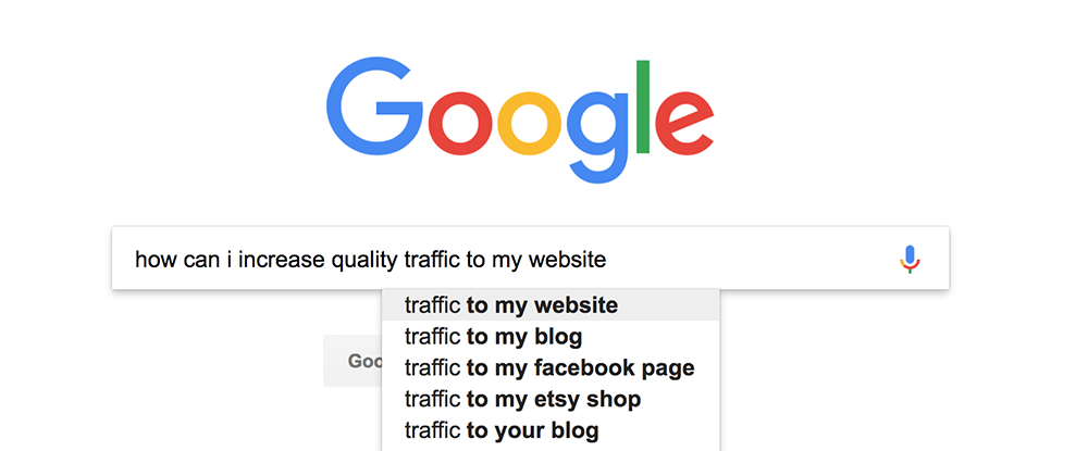 Google seo search for websites