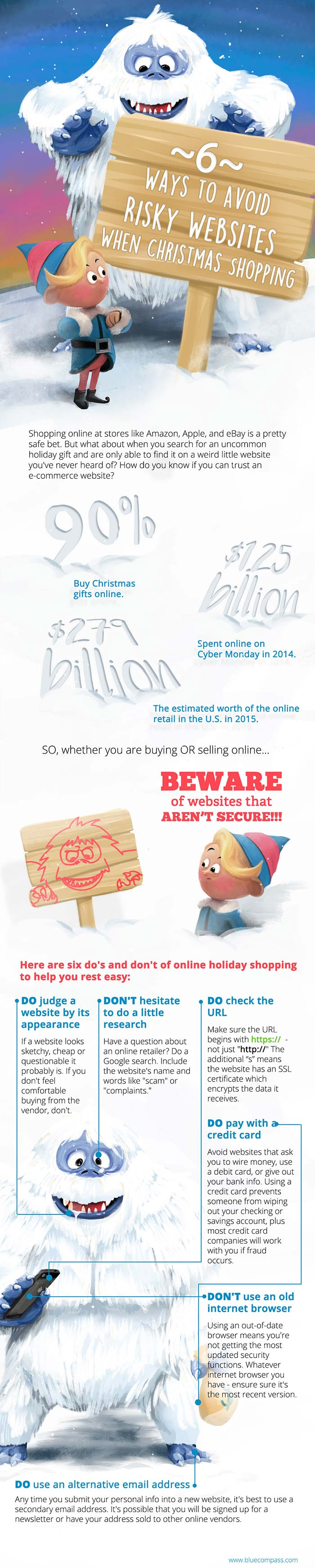 6 Ways to Avoid Risky Websites When Christmas Shopping Online
