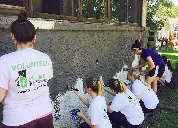 Blue Compass teams up with Rebuilding Together