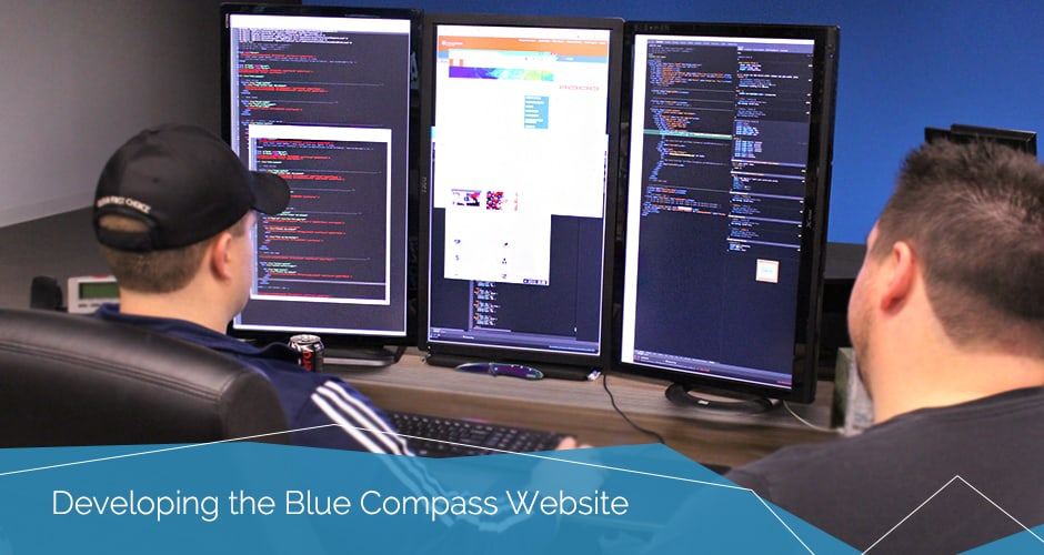 Developing the Blue Compass Website