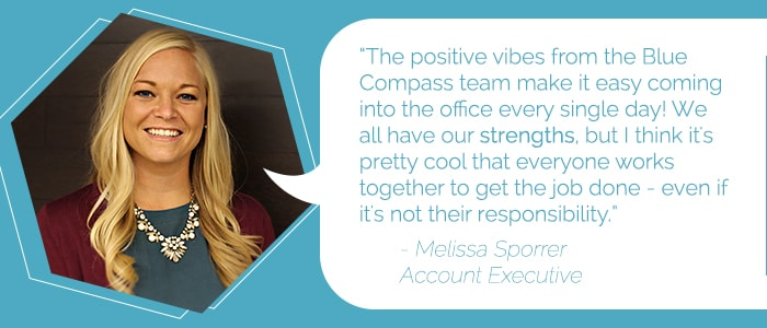 Melissa Sporrer, Account Executive
