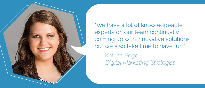 Katrina Reger, Digital Marketing Strategist