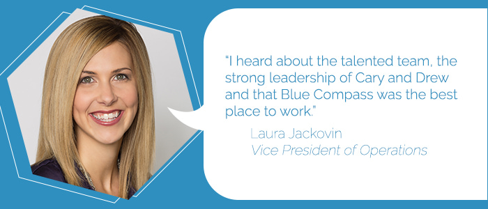 Laura Jackovin, Vice President of Operations