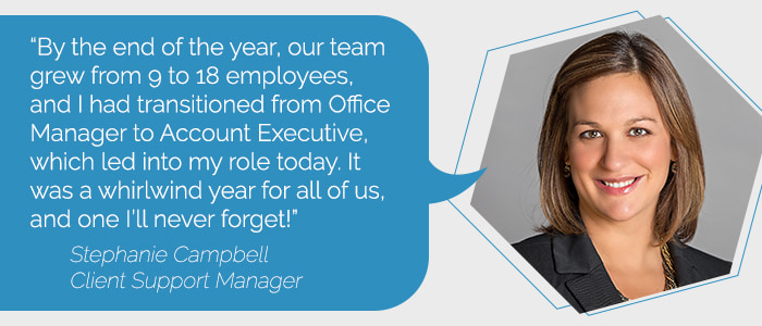 Stephanie Campbell, Client Support Manager