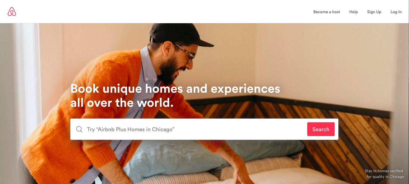 airbnb ux and seo example
