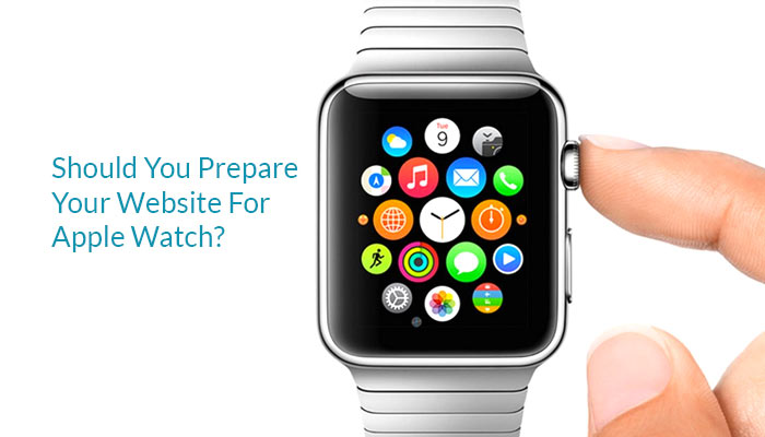apple watch and your website