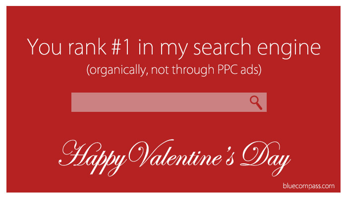 search engine SEO valentine