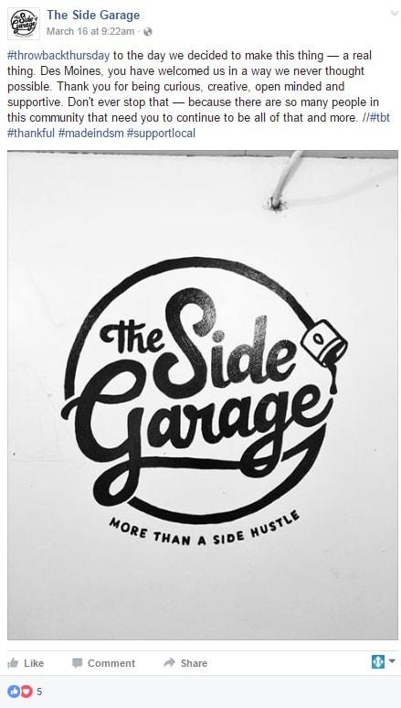 The Side Garage