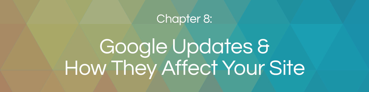 Chapter 8: Google Algorithm Updates