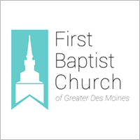 First Baptist Church website design by blue compass