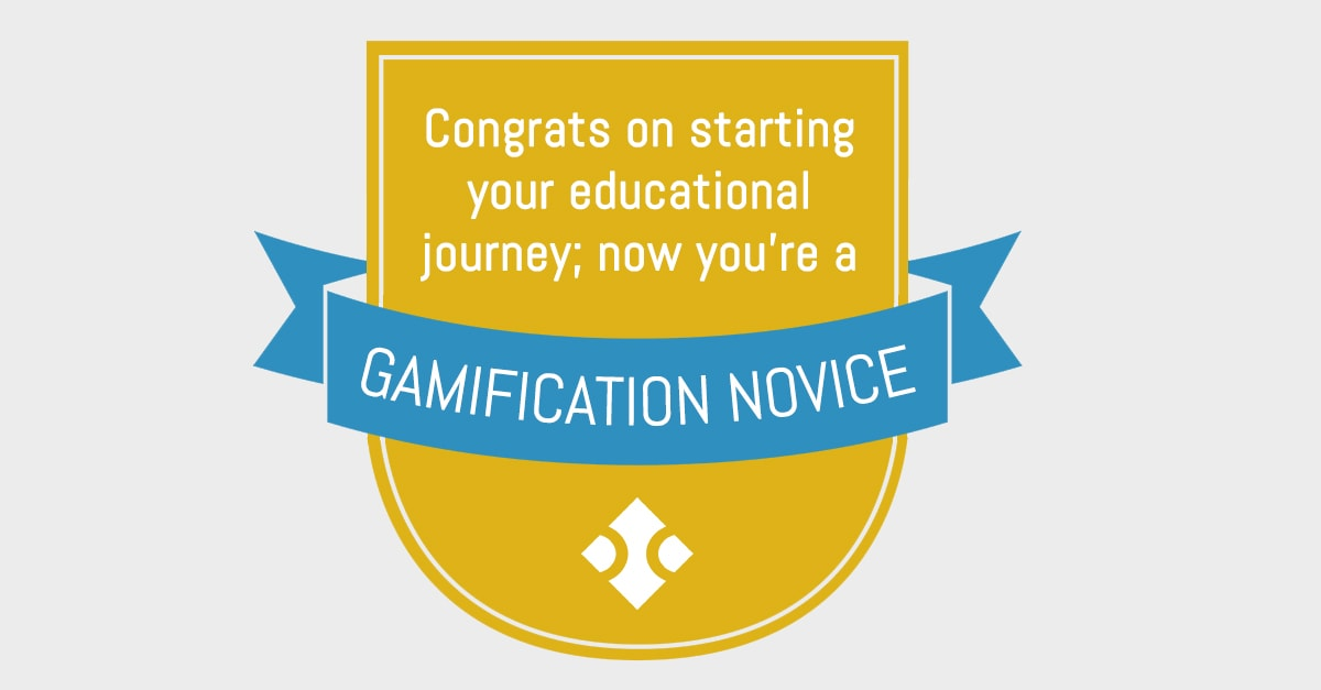 Blue Compass Gamification badge