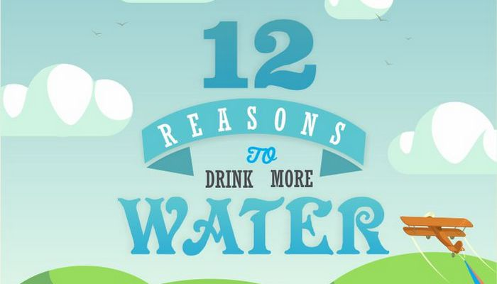 Blue Compass Inforgraphic Reasons to Drink More Water