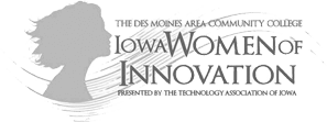 Iowa Women of Innovation Award for Digital Marketing and Advertising by Blue Compass Interavice
