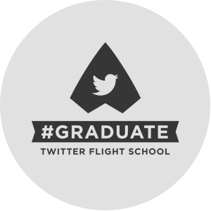 Blue Compass Twitter Flight School Certified