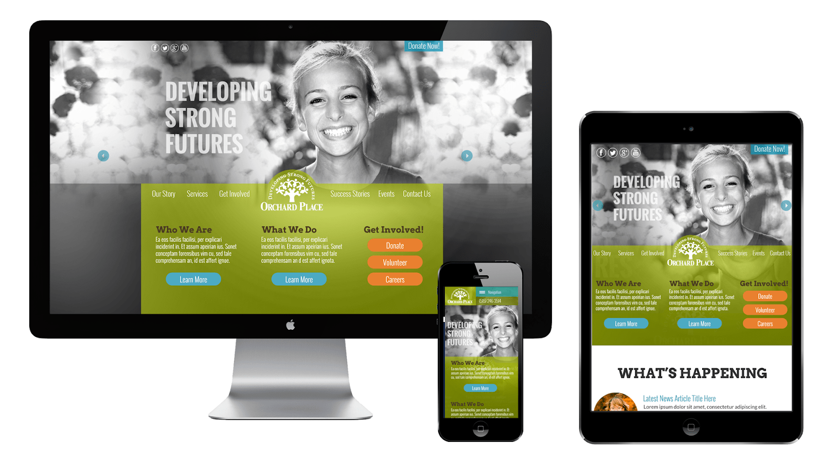 Nonprofit website design