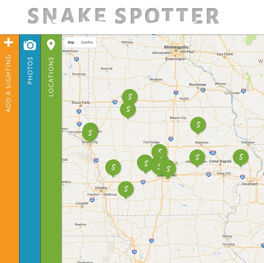 Snake Spotter Interactive Content