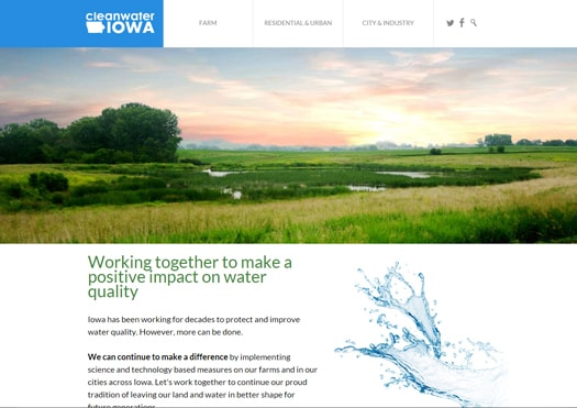 department of agriculture website design