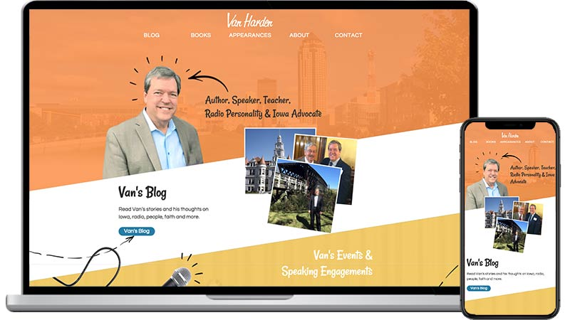 Van Harden Website Design
