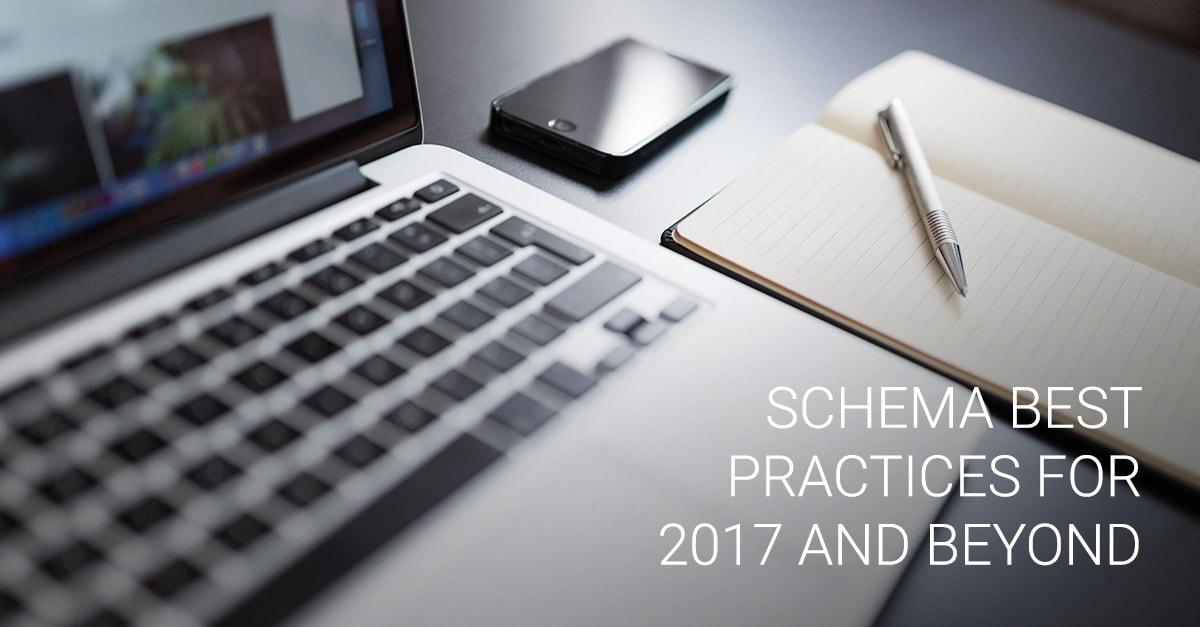 Schema Best Practices for 2017