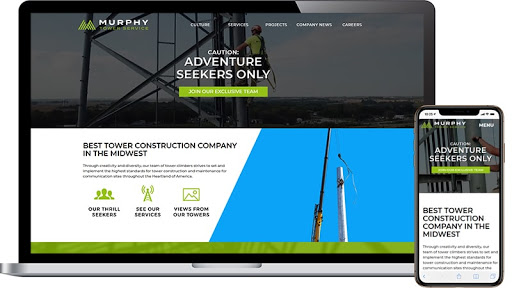 Murphy Tower Website Design