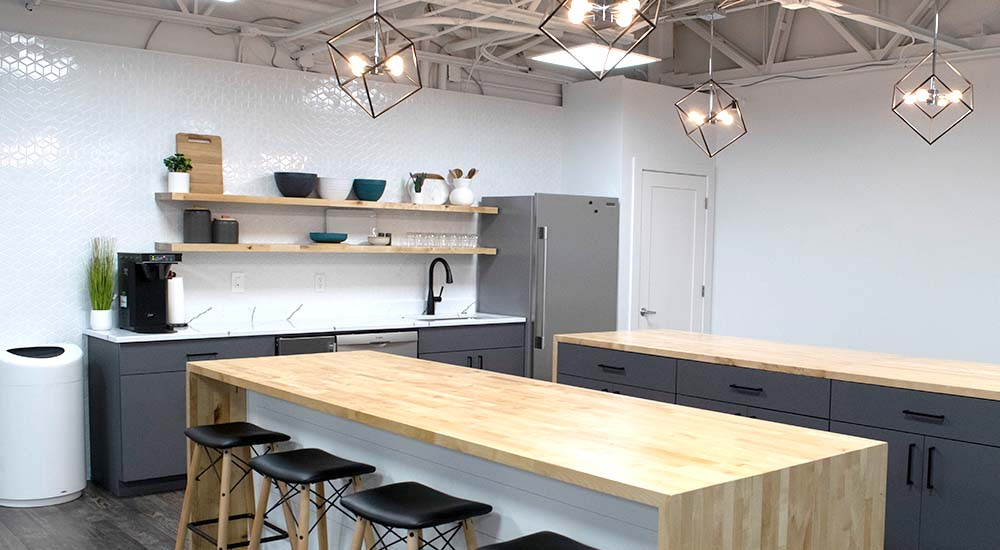 West48 Conference Center Kitchen Space.